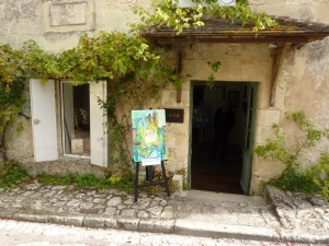 L'Atelier du Roy , rue du Couvent à Saint Emilion